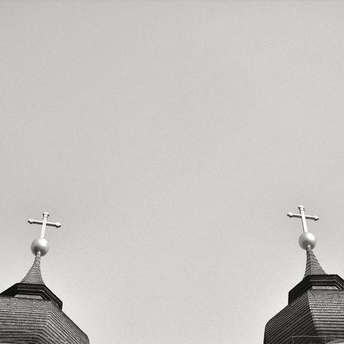 View Of Crosses