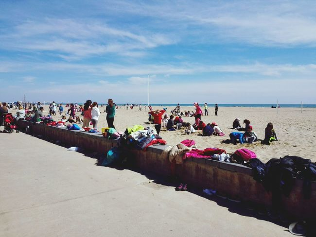 Urban Spring Fever People Beach Spring Beach Sand People Playing Kids Kids Playing Showcase: April