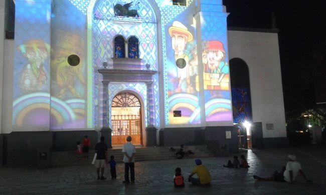 Espectaculo Night Arch Travel Destinations Religion Spirituality Architecture City Street Multi Colored