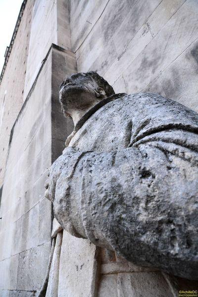 Architecture Chieti Good Friday Italy San Giustino Church Statue