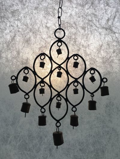 No People Close-up Day Ornaments Ornamental Decoration Decorative Nofilter Noedit EyeEm Gallery Back Lit Backlight Silhouette Silhouettes Silhouette_collection Windchimes