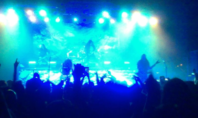 Testament shredding 'Riding The Snake' in Arizona. Arizona Tempe Heavymetal Testament Concert
