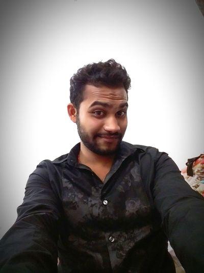 First Selfie  NewPhone Photogenic Mood AtBikanerWala NoWords2say Fully Bored