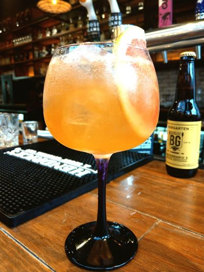 Drink Cocktail Alcohol Biergarten Bull&tonic