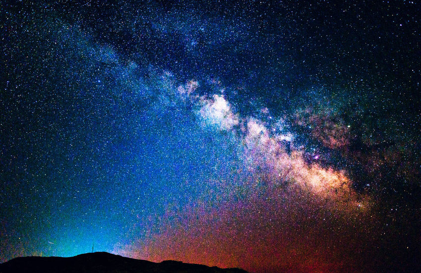 Milky Way & the Galactic Core Alone Astronomy Beauty In Nature Blue Constellation Galaxy Huge Lonely Low Angle View Majestic Milky Way Milkyway Natanomalous Nature Nature Photography Nature_collection Night Outdoors Scenics Science Sky Star - Space Tranquil Scene Tranquility Universe