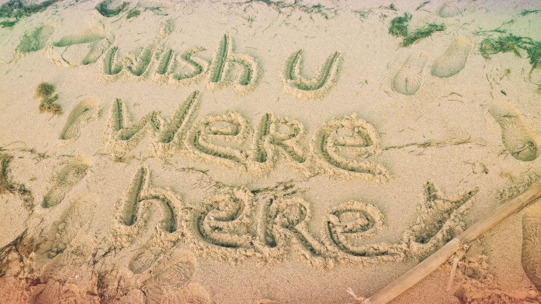 Wish You Were Here Sand Beach