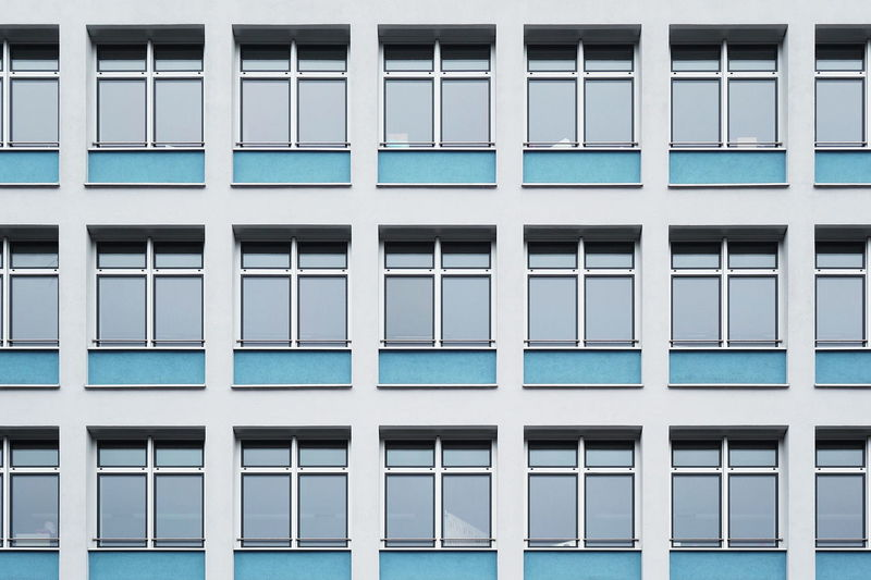 Façade Architecture Building Exterior Built Structure Pattern Simplicity Symmetry Windows The Architect - 2018 EyeEm Awards