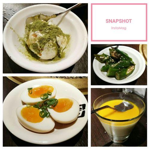 先烤一波 5~ ギュウカク Gyukaku 牛角 燒肉 牛角燒肉 Plate Soup Bowl Close-up Food And Drink