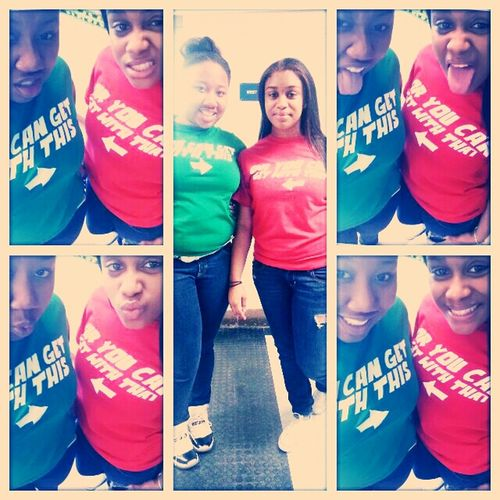 Me and my Bestfriend last Friday :* love this chick