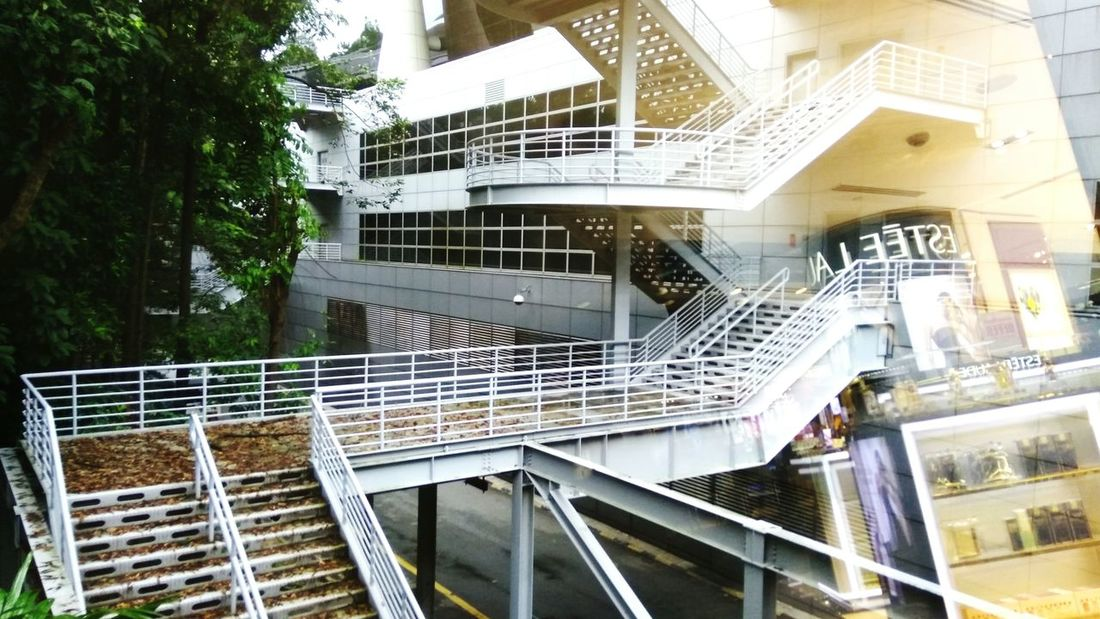 It slowly fade away (age) - KLIA (Nov, 2017) Building Exterior Fade Staircase Architecture Steps Built Structure Railing Outdoors EyeEmNewHere Visual Creativity
