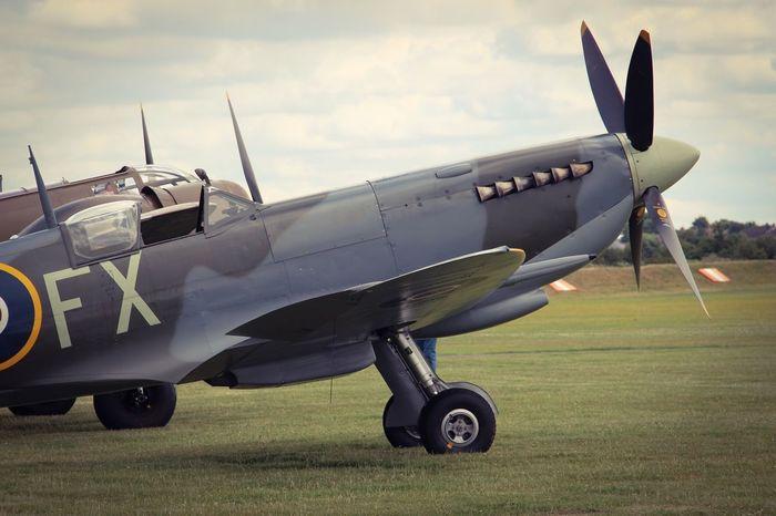Spitfire Worldwar2 Ww2 Ww2warbirds WW2 Museum Duxford Museum Memories Airport Airplane Aircraft Chilling