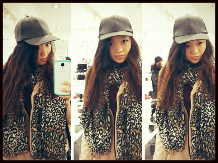 Gray baseball cap Forever21 Fashion Koreanfashion Accessories