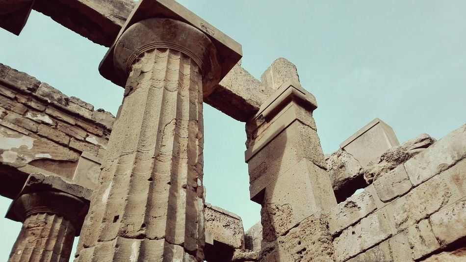 #temple #History Power EyeEm Selects Architecture Low Angle View Built Structure No People Sky