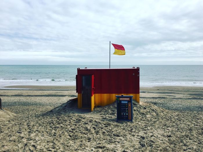 Brittas Bay Wicklow Ireland Beach Horizon Over Water Sand Shore No People Outdoors