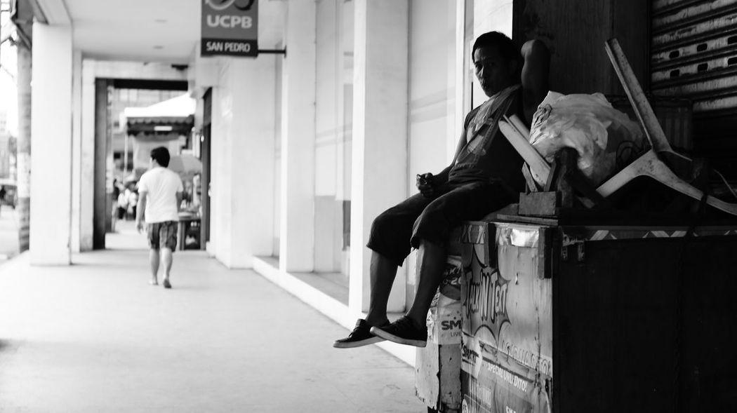 The Street Photographer - 2014 EyeEm Awards Eye4black&white  Davao Streetphoto_bw B&w Street Photography