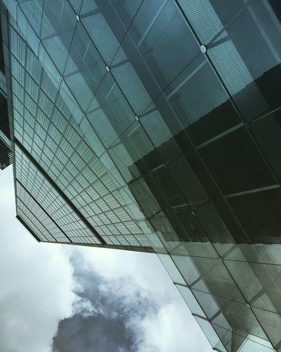 Bogotá #BdeBacatá Building Exterior Architecture Cloud - Sky Sky Day City Modern No People