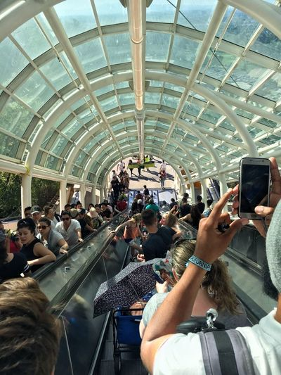 universal L.A LosAngelesCity #universal Large Group Of People Wireless Technology Indoors  Crowd Men People Travel