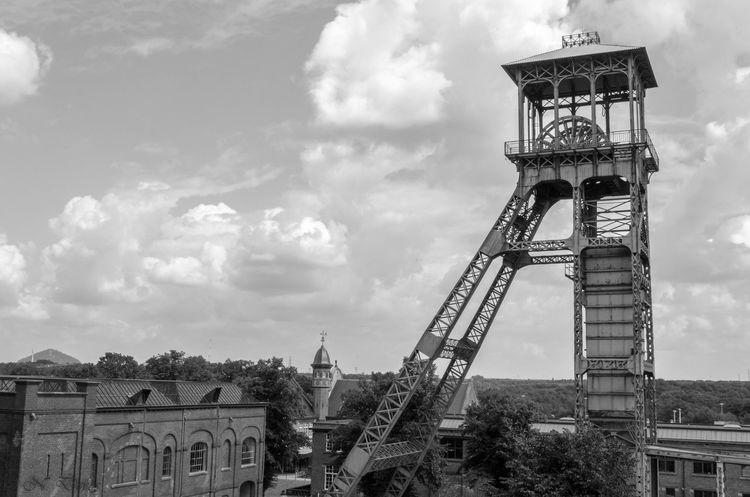 Coalmine Genk Industrial Building  Cmine