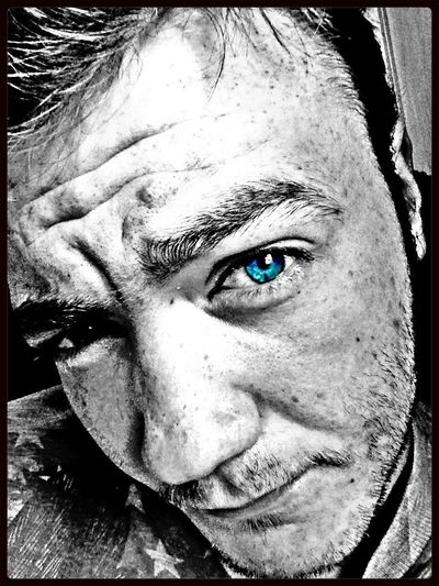 I'm Going #selfie Craaazy... Black And White Self-Portrait HDR Selfportrait I Love Colorsplash