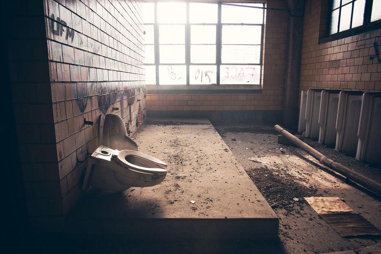 Urbex Abandoned Bathroom