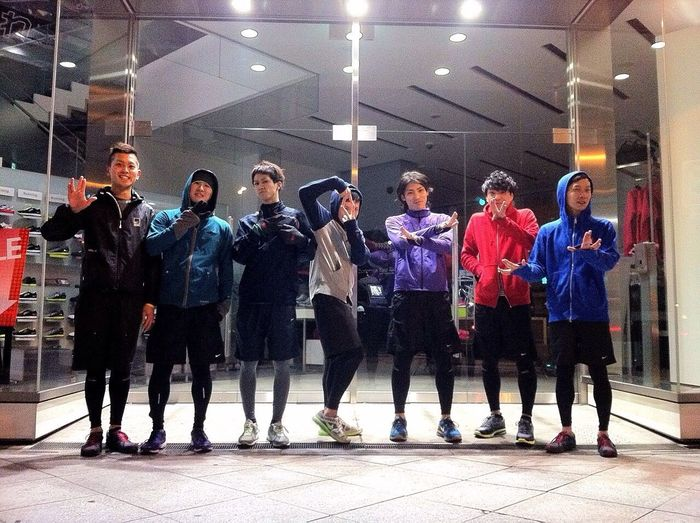 Nike Japan OSAKA U.R.S.J we are crew !!!!! since 2010