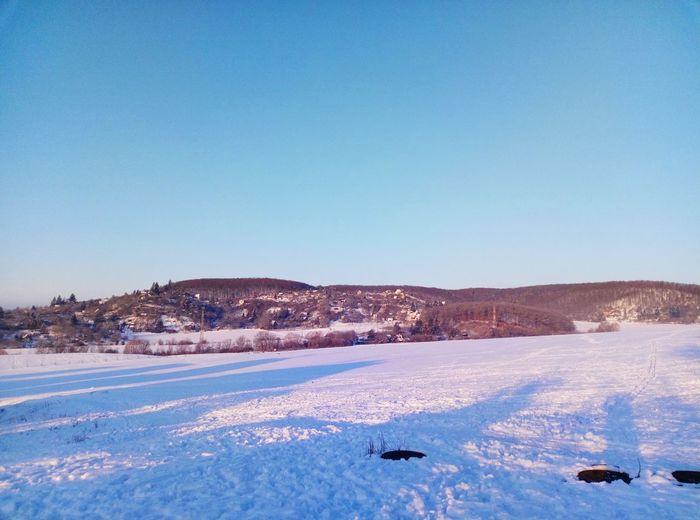 Azzurro Snow Clear Sky Cold Temperature Winter Blue Mountain Bird Frozen Astrology Sign Polar Climate