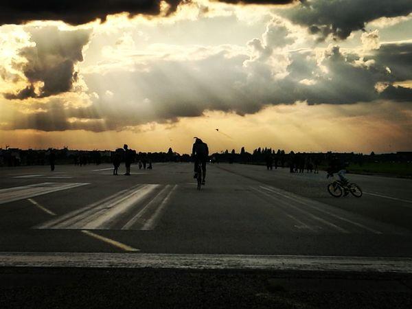 Discover Berlin Myberlin Tempelhofer Feld Sunset EyeEmNewHere