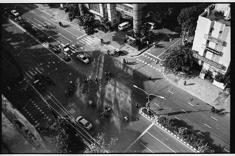Took this almost 2 years back. Throwback Blackandwhite Noir Cityscape Dhakagraam Dhaka Instadaily