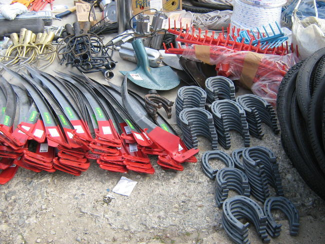 Choice For Sale Large Group Of Objects Marketplace No People Outdoors Variation Working Tools