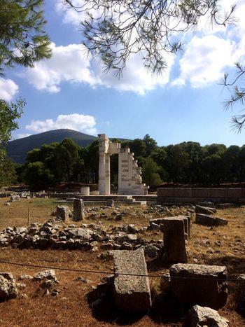 Mythology Old Ruin Ancient