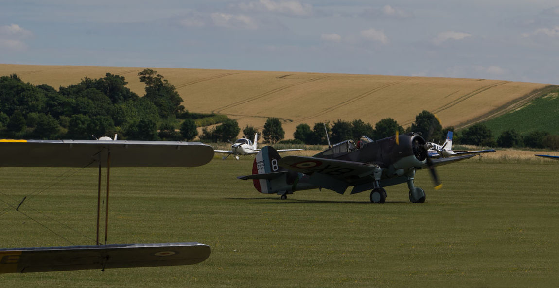 Curtiss Hawk 75 Duxford Air Show Duxford Imperial War Museum Plane Raw SONY A7ii Aircraft Wing French Manfrottobefree Spotter Warbird Ww2 Zeiss