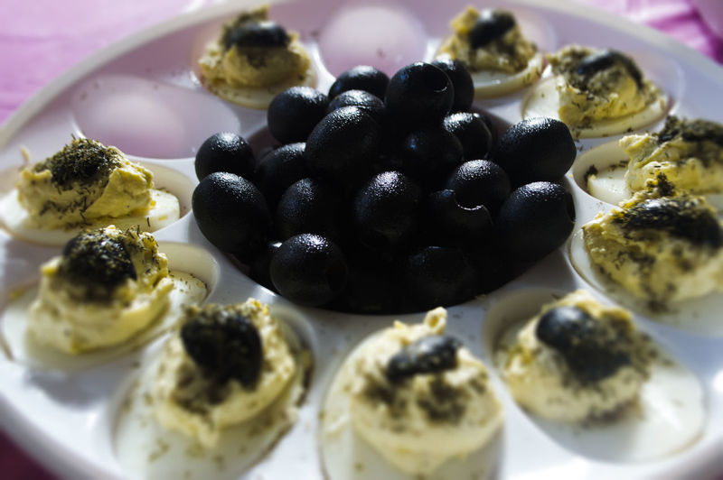 Black Color Close-up Day Food Food And Drink Freshness Fruit Healthy Eating Indoors  No People Plate Ready-to-eat Black Olives Olives Eggs Deviled Eggs Deviledeggs LyncasterPhotography Deviled Egg Tray Nikon D3200 18-55mm Ocala