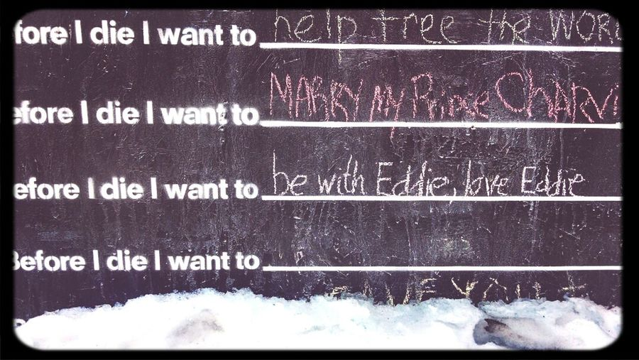 what do you want to do Beforeyoudie ?