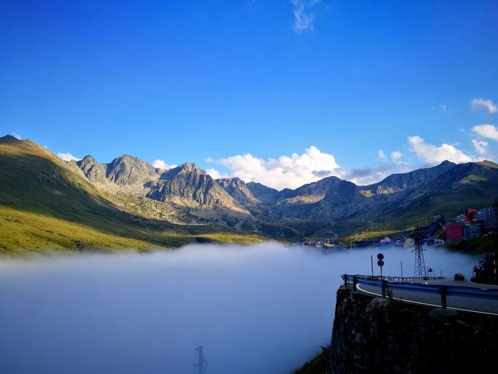 Above the cloud Mountain Tranquility Beauty In Nature Nature Lost In The Landscape