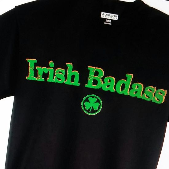 Irish Stpatricksday Tshirts Irishbadass get your Irish Badass tshirt at www.UpYourTee.com and free shipping US phone orders: 1-609-660-2257.