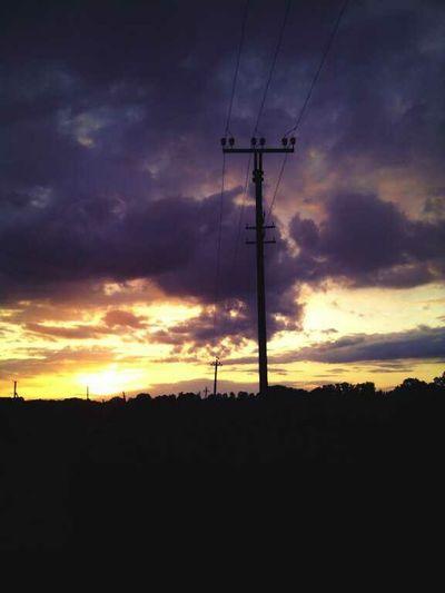 закат🌇 небо⛅️ Sky облака облачно тучи и облака