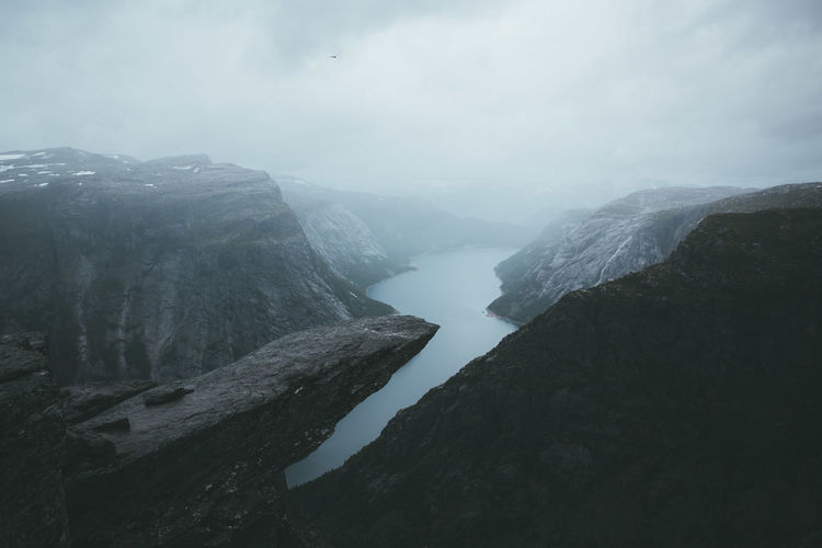 Adventure Club Beautiful Landscape_Collection Nature Nature Photography View Adventure Beauty In Nature Day Fjord Fog Landscape Landscape_photography Mountain Nature Nature_collection Naturelovers No People Outdoor Outdoor Photography Outdoors Scenics Sky View From Above Water