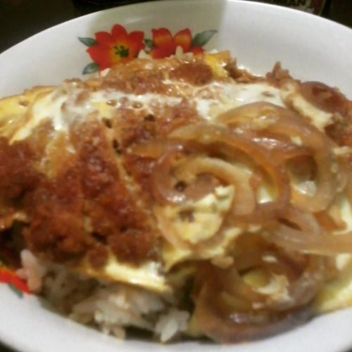 Our favorite. Lunch Feelingchef Katsudon Japanese Food