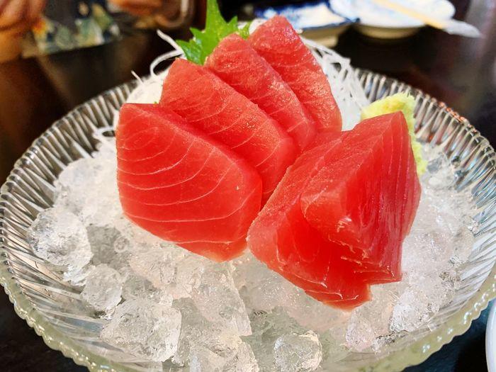 Japanese Food Sashimi Dinner Sashimi Sushi Tuna Food And Drink Close-up Freshness Food Red
