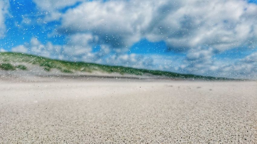 Landscape Nature Sky Cloud - Sky Outdoors Scenics Beauty In Nature No People Beach Freshness Close-up Storm