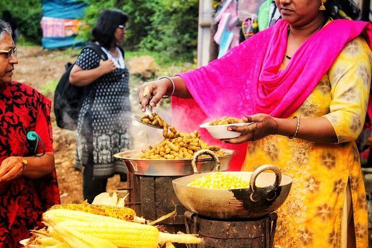 Women Food Food