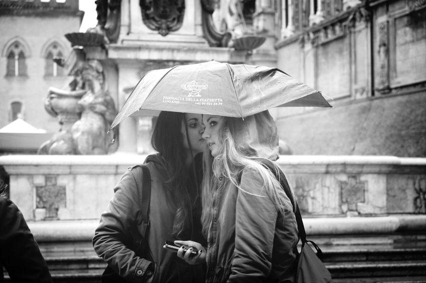Bologna Streetphotography Rain People