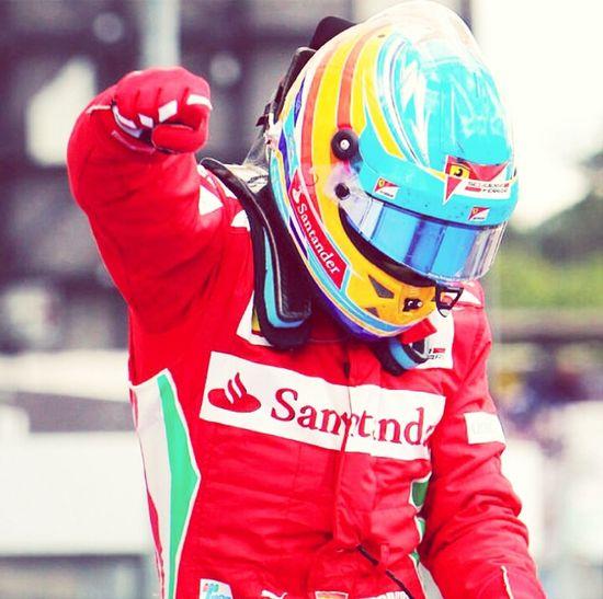 Fernando Alonso. This is a true driver!! F1 Formula1 Fernando Alonso Scuderia Ferrari