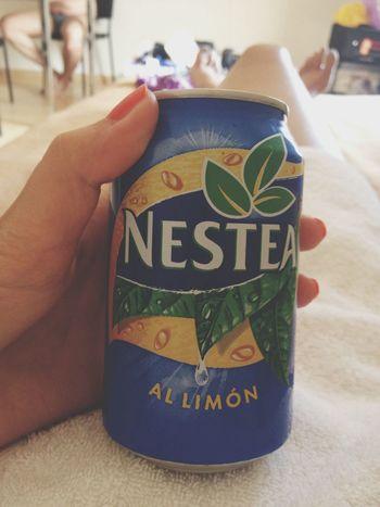 Drink Nestea Barcelona Enjoying Life