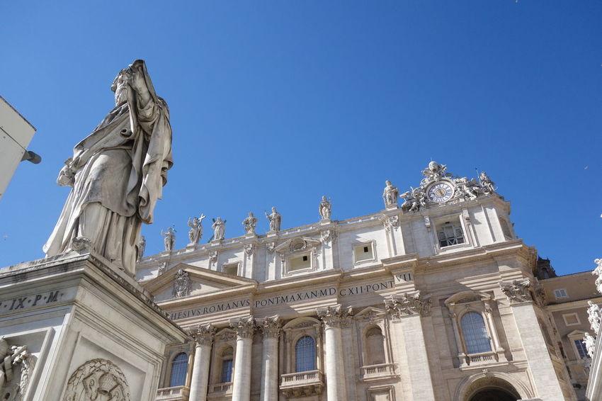Building Exterior Famous Place Historic Vatican VaticanCity