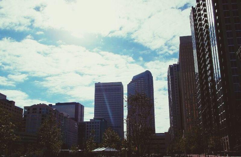 Charlotte Weekend Charlotte Skyline Urban Landscape Aline Fliter