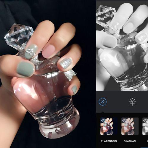 Nails Nail Art Japanese High School Students Followme Good Self Nail Art Self Nail