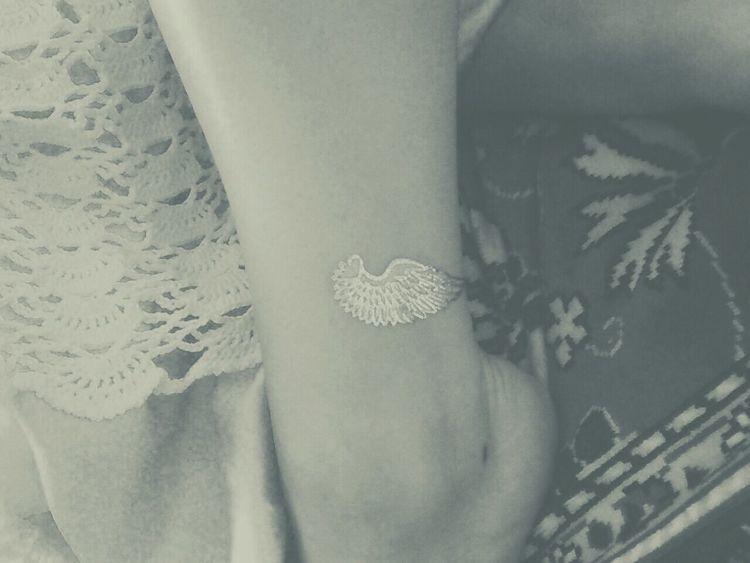 Love Wings Flying Greek Mythology Hermes Tattoo Shinning Bright Freedom Relaxing