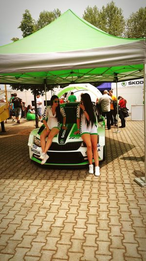 Rallye Rally Car Girls Car Skoda Ceske Budejovice