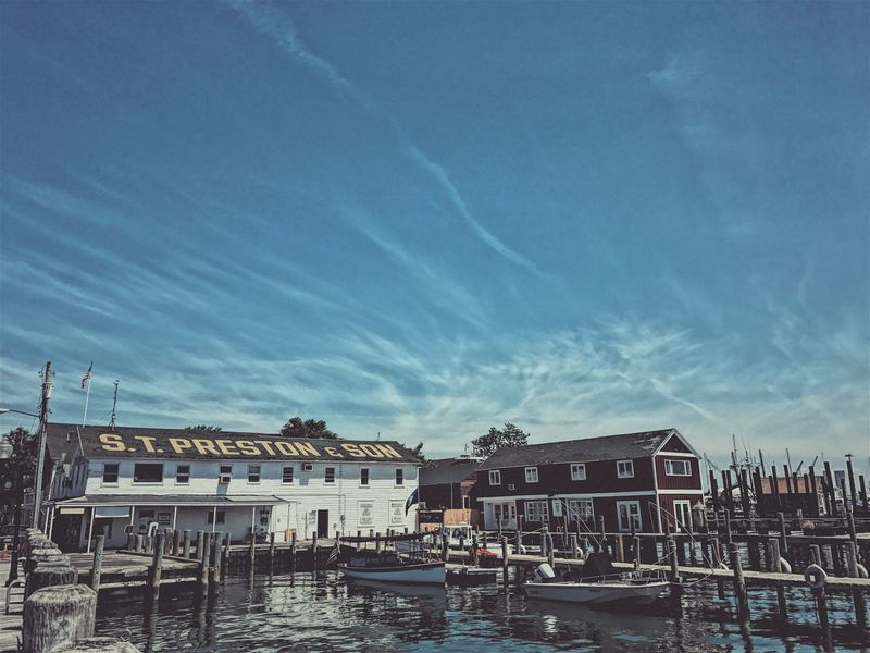 Greenport 2017 | dockside Architecture Building Exterior Sky Cloud - Sky Harbor Waterfront Dock Seaside